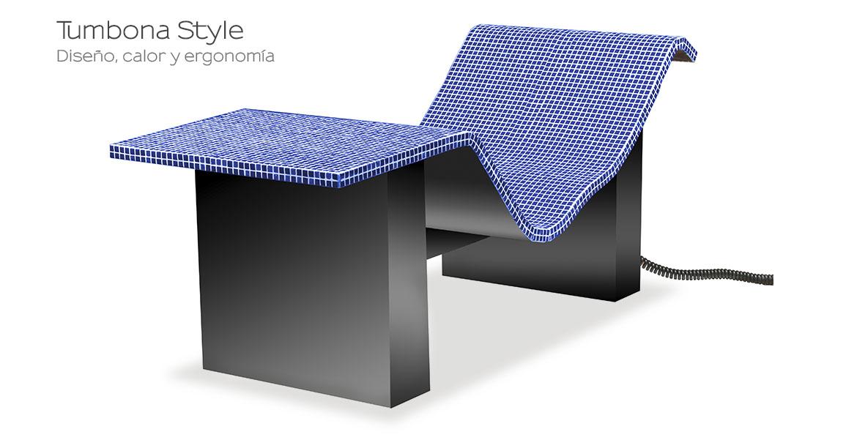 Tumbona Style Azul