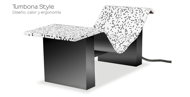 Tumbona Style Negro y blanco